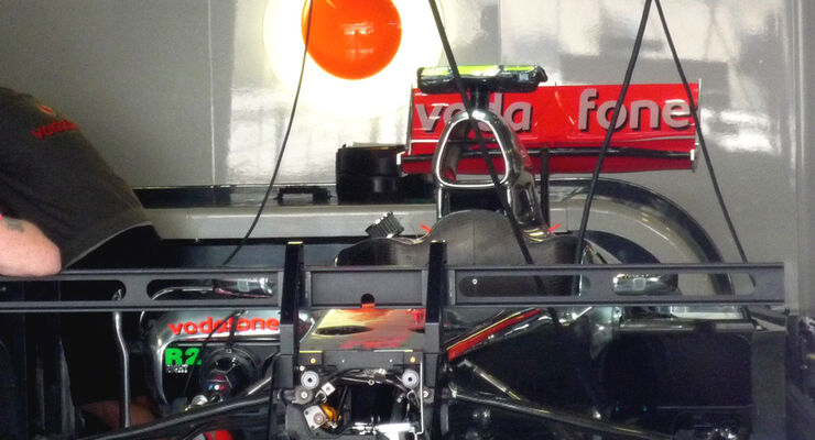 McLaren Monza 2010 GP Italien