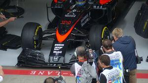 McLaren-Nase