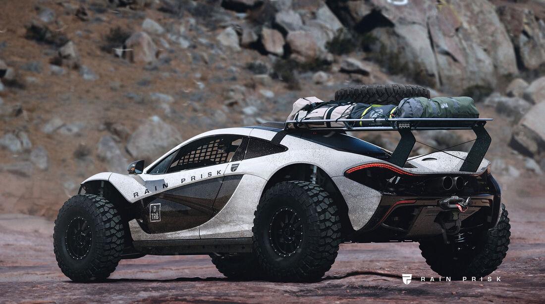 McLaren P1 - Design-Konzept - Grafikkünstler Rain Prisk