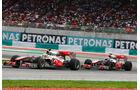 McLaren-Piloten im Duell
