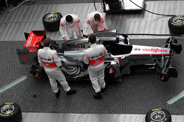 McLaren Präsentation 2011