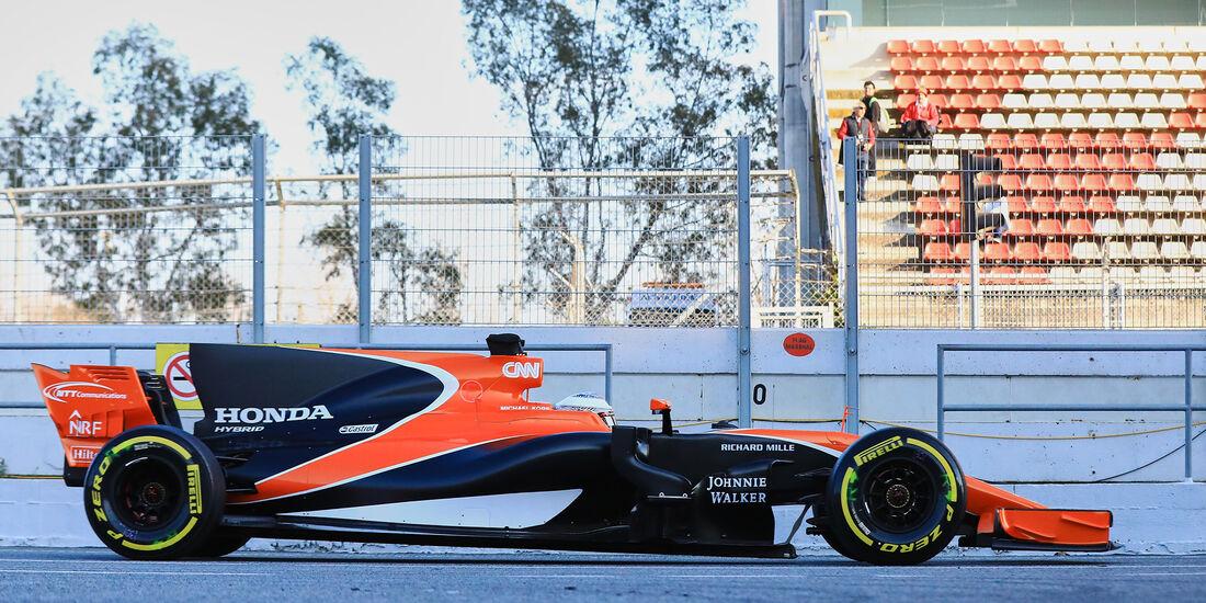 McLaren - Profil - F1 - Barcelona Test 2017