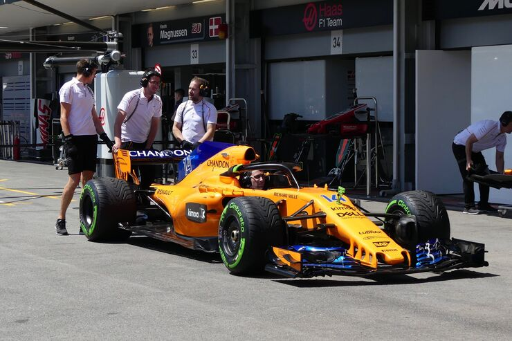 McLaren-Renault - Formel 1 - GP Aserbaidschan - 26. April 2018
