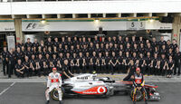 McLaren Teamfoto GP Brasilien 2011