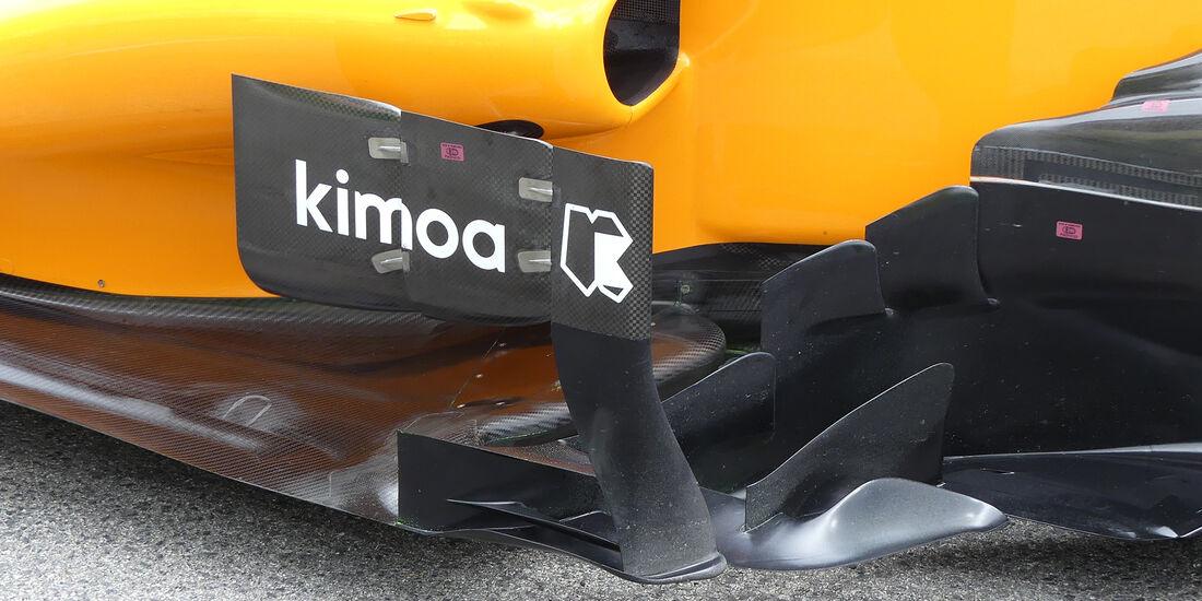 McLaren - Technik - GP Spanien 2018