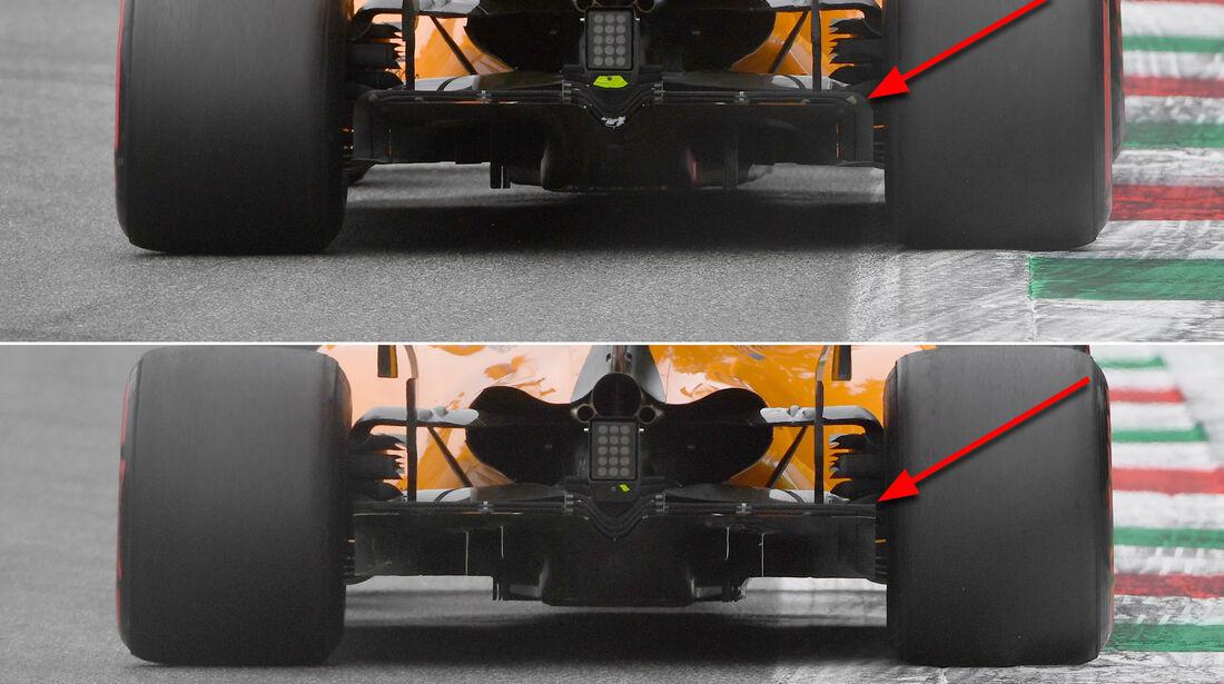 McLaren - Technik - Upgrades - GP Belgien / GP Italien 2018