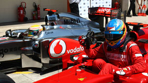 McLaren und Ferrari