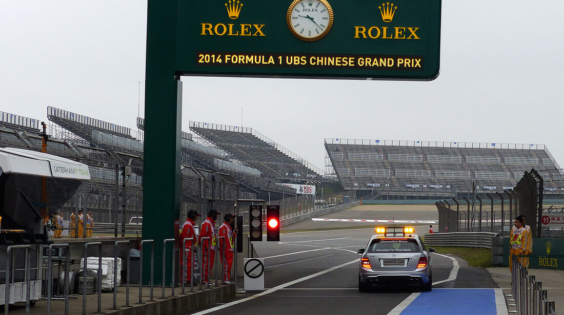 Medical-Car - Formel 1 - GP China - Shanghai - 18. April 2014
