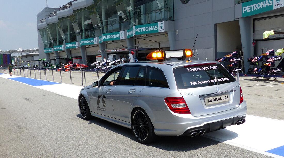 Medical Car - Formel 1 - GP Malaysia - Sepang - 27. März 2014
