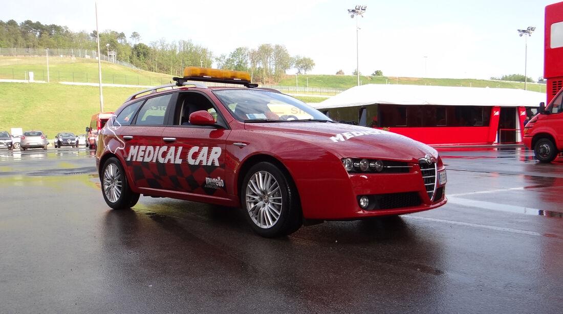 Medical Car - Formel 1-Test - Mugello - 1. Mai 2012