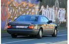 Mercedes 230 CE, Heckansicht