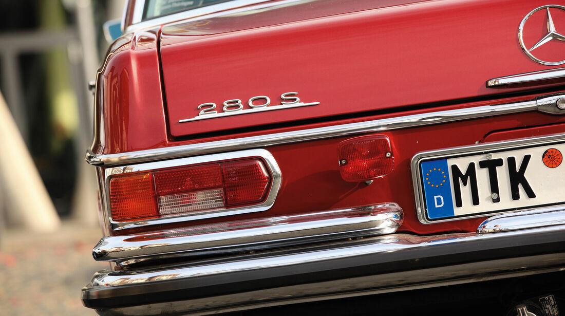 Mercedes 280 S, Typenbezeichnung