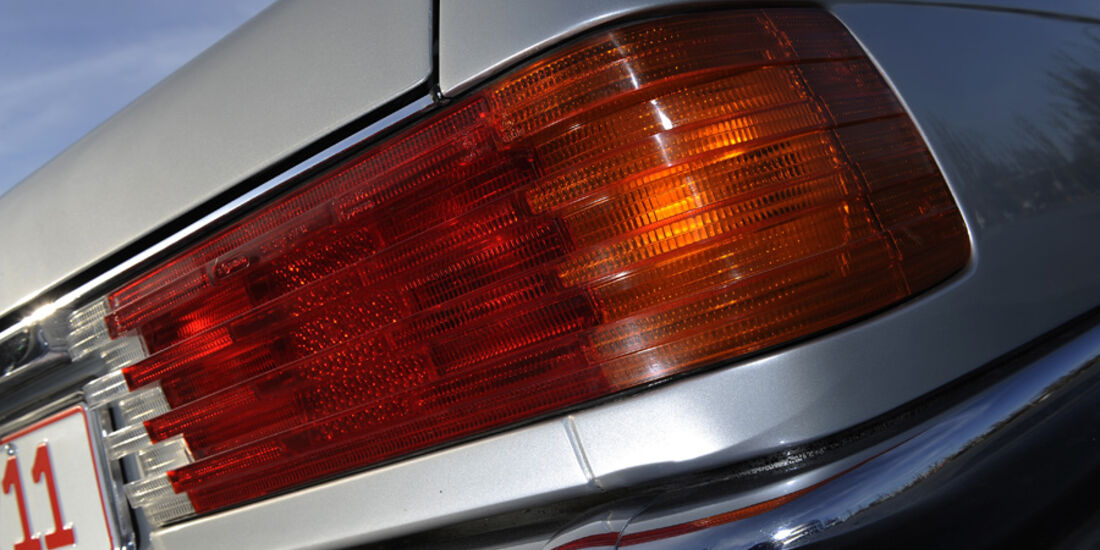 Mercedes 280 SLC, Rücklicht