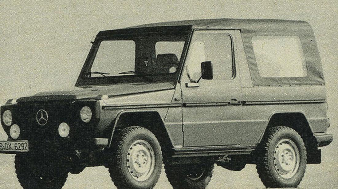 Mercedes, 300 GD, IAA 1981