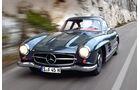 Mercedes 300 SL, Frontansicht