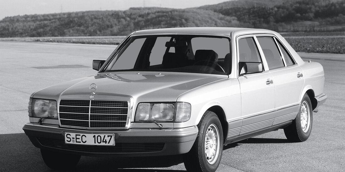 Mercedes 380 SE, Frontansicht