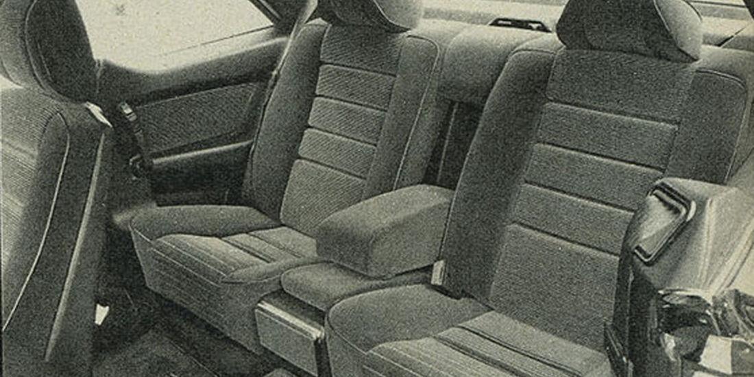 Mercedes, 380 SEC und 500 SEC, IAA 1981