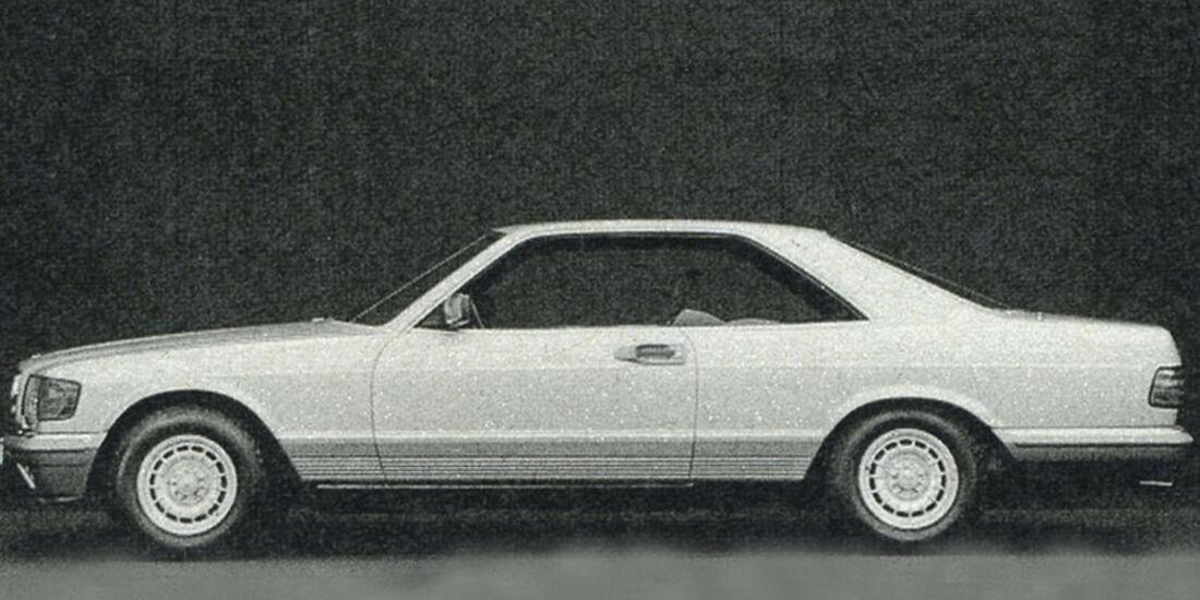 Mercedes, 500 SEC, IAA 1981