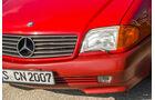 Mercedes 500 SL (R129), Frontscheinwerfer