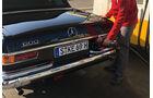 Mercedes 600 Landaulet, Exterieur, Tanken