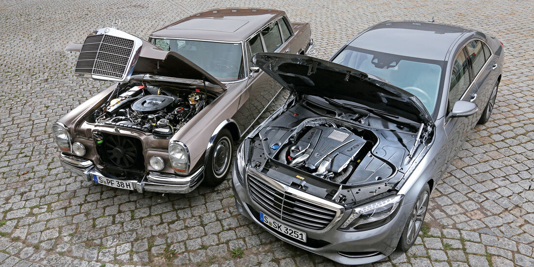 Mercedes 600, S 500, Motorhaube