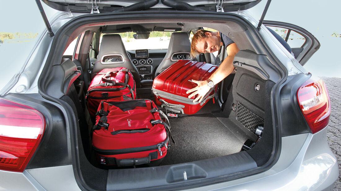 Mercedes A 200 CDI AMG Sport, Kofferraum, Ladefläche