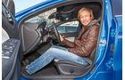 Mercedes A 200 CDI, Fahrersitz, Marcus Peters