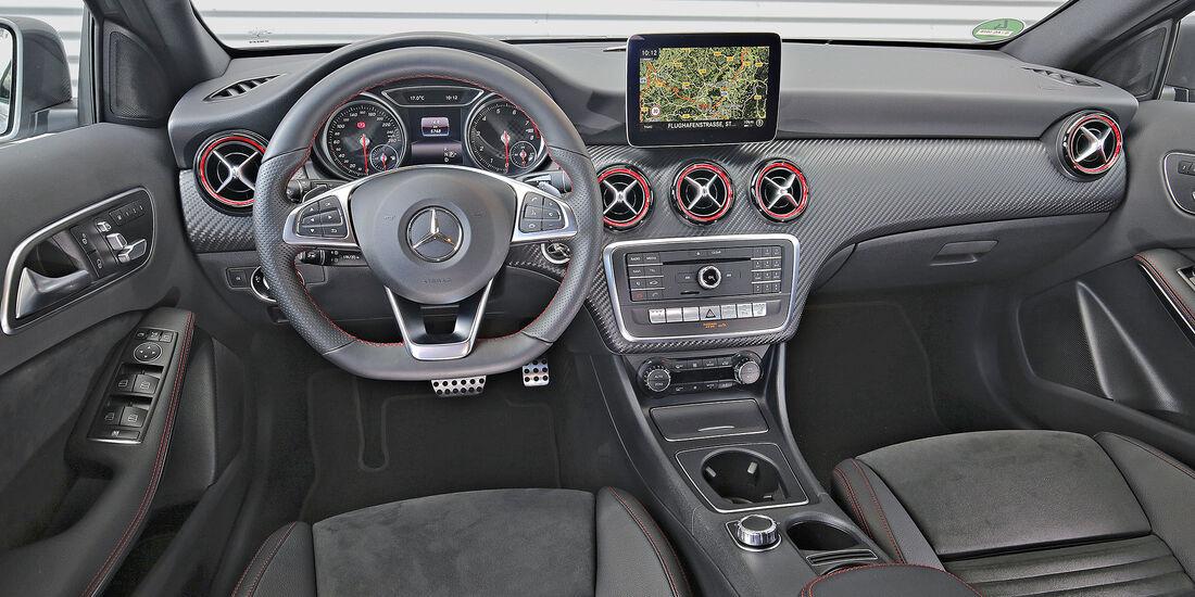 Mercedes A 250, Interieur