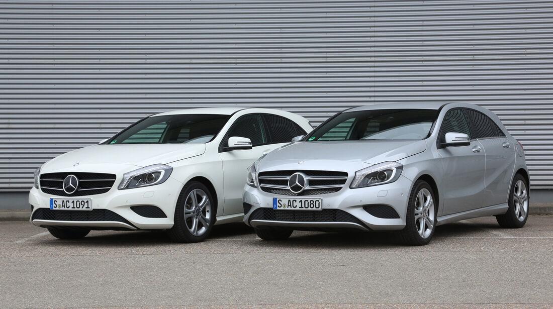 Mercedes A 250, Mercedes A 220 CDI, Fro