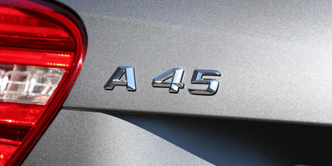Mercedes A 45 AMG, Typenbezeichnung