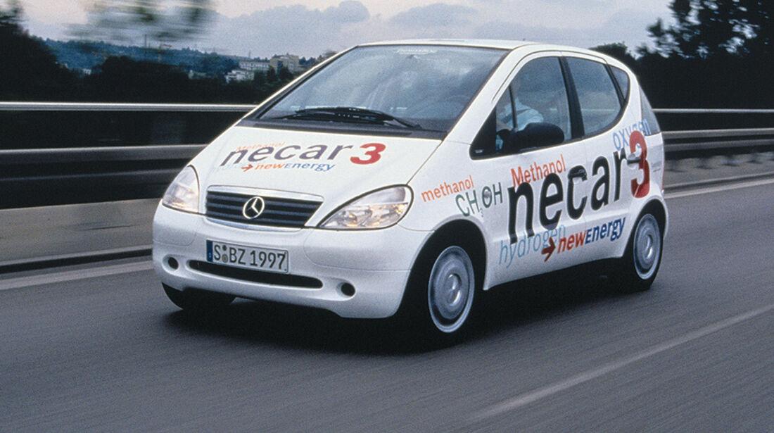 Mercedes A-Klasse, 1998, Necar