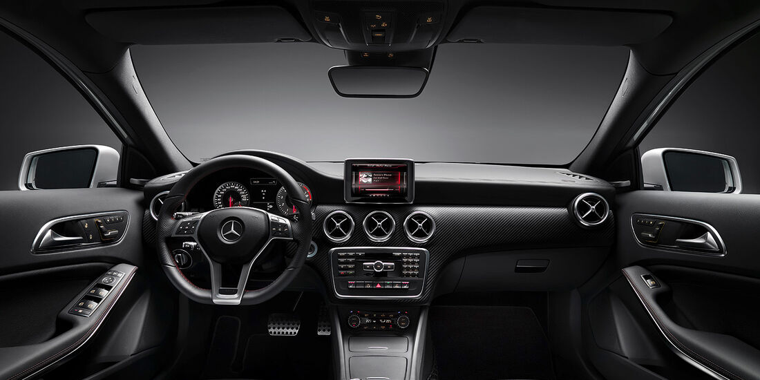Mercedes A-Klasse, AMG Exklusiv-Paket