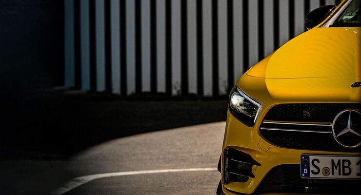 Mercedes A-Klasse AMG Teaser