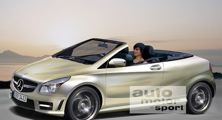 mercedes a klasse cabrio auto motor und sport. Black Bedroom Furniture Sets. Home Design Ideas