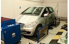 Mercedes A-Klasse E-Cell, RollenprŸfstand