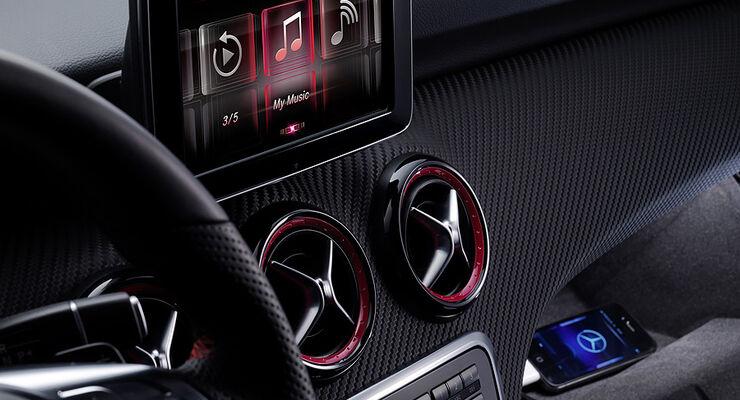 Mercedes A-Klasse Innenraum
