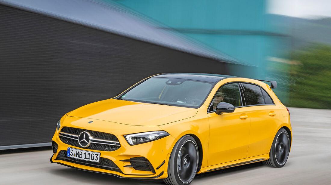 Mercedes-AMG A 35 4Matic - Serie - Kompaktwagen ueber 35000 Euro - sport auto Award 2019