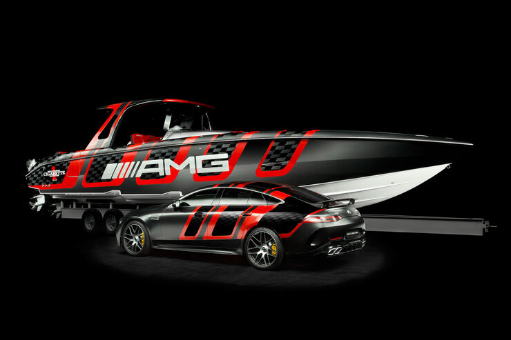 """Mercedes-AMG Cigarette Racing """"41' AMG Carbon Edition"""""""