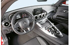 Mercedes-AMG GT, Cockpit