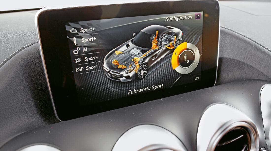 Mercedes-AMG GT, Display, Infotainment