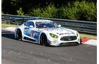 Mercedes AMG GT3 - Black Falcon - Startnummer #1 - Top-30-Qualifying - 24h-Rennen Nürburgring 2017 - Nordschleife