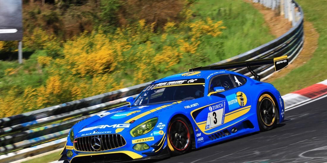 Mercedes AMG GT3 - Startnummer #3 - 2. Qualifying - 24h-Rennen Nürburgring 2017 - Nordschleife