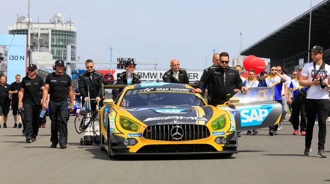 Mercedes-AMG GT3 - Startnummer #4 - 24h-Rennen Nürburgring - Nordschleife - Samstag - 12.5.2018