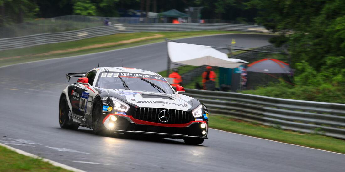 Mercedes-AMG GT4 - Startnummer #190 - 24h-Rennen Nürburgring 2018 - Nordschleife - 13.5.2018