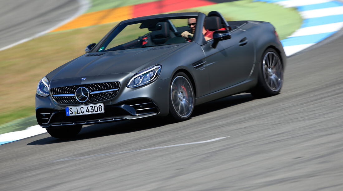 Mercedes-AMG SLC 43, Frontansicht
