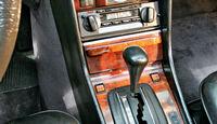 Mercedes-Ausstattungsvielfalt, Mittelkonsole