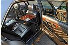 Mercedes-Ausstattungsvielfalt, W126, Innenraum