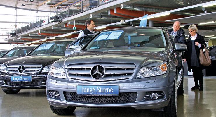 Mercedes, Autohaus