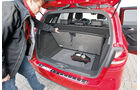 Mercedes B 200 CDI, Kofferraum