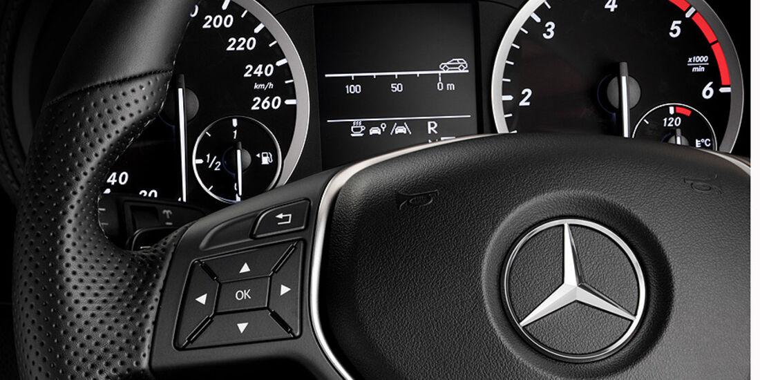 Mercedes B-Klasse Innenraum